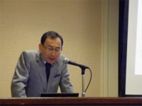 近藤教授による基調講演「日本の建設業界-現状と方向性-」