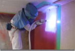 常温金属溶射システム「MS工法」の施工